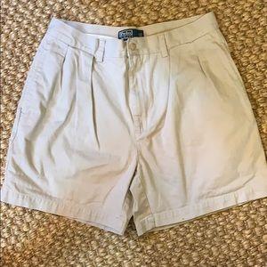 "Polo Ralph Lauren ""Andrew"" khaki shorts"